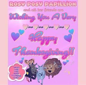 RosyPosy Thanksgiving